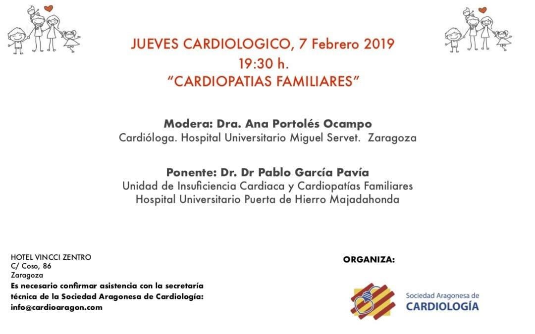Jueves cardiológicos 7 de febrero 2019