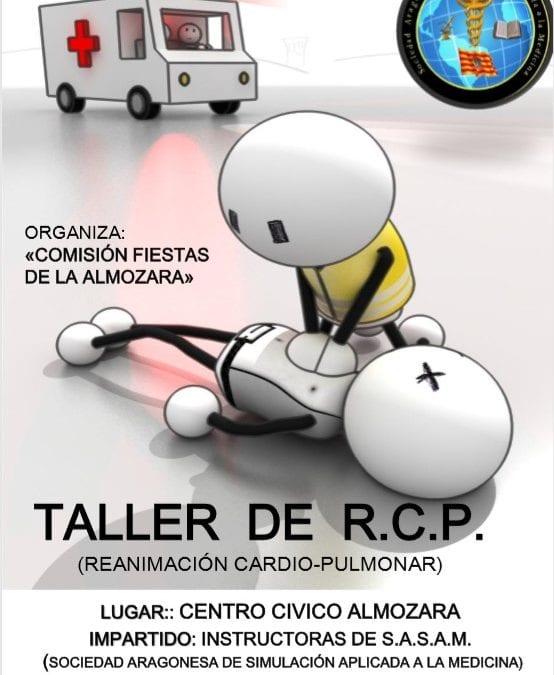 Taller de Reanimación Cardiopulmonar en el barrio de la Almozara